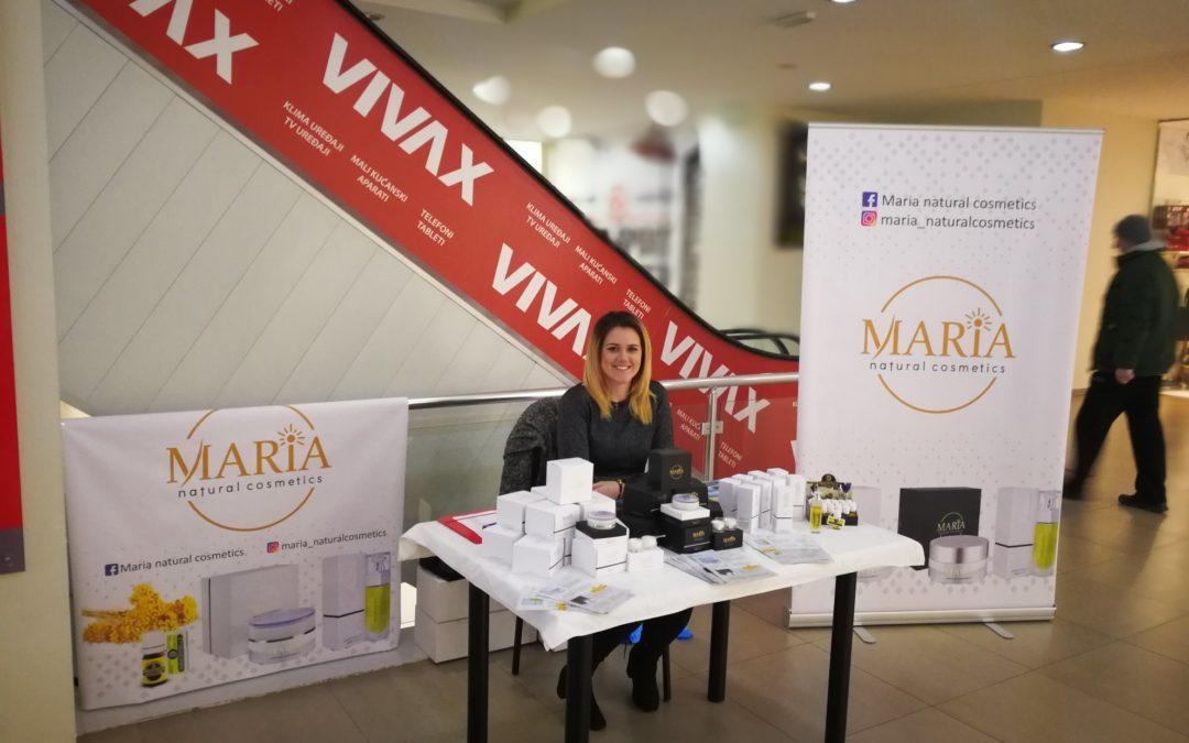 Održana prezentacija kozmetike Maria u PC Mališić Međugorje